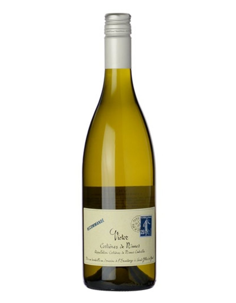 French Wine Victor Costieres de Nime Blanc 2014/2016 750ml