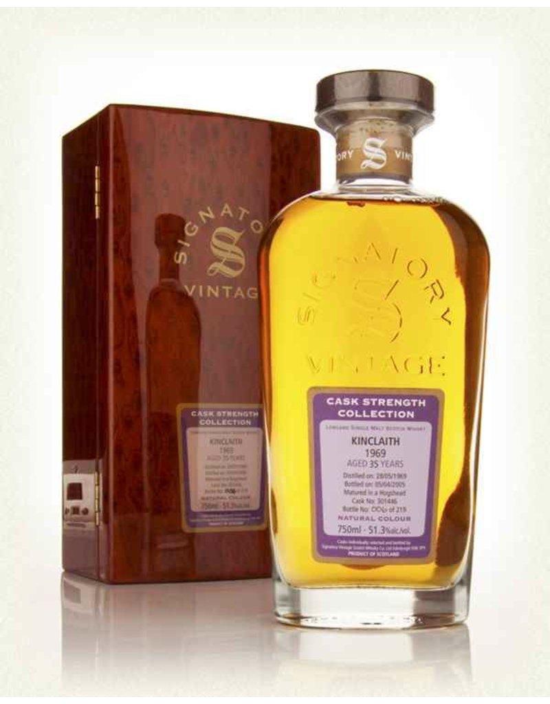 Scotch Signatory Kinclaith 1969 35 Year Rare Reserve Cask Strength 750ml