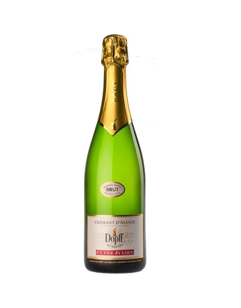 "Sparkling Wine Dopff au Moulin Cremant d'Alsace ""Cuvee Julien"" Brut NV 750ml"