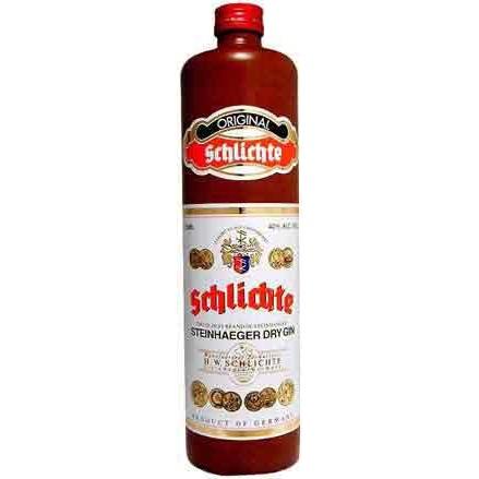 Gin Schlichte Steinhaeger Dry Gin 750ml