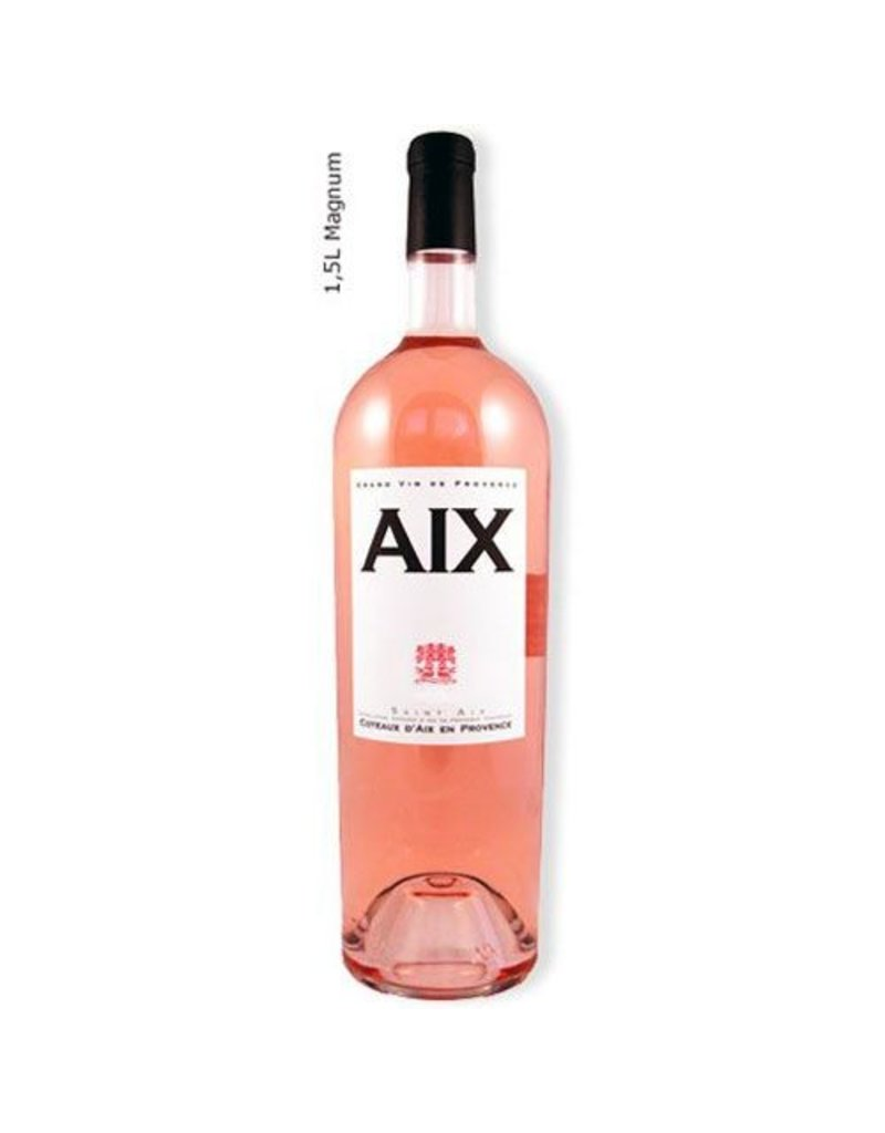 French Wine Saint Aix Rose Coteaux d'Aix en Provence 2016 1.5L