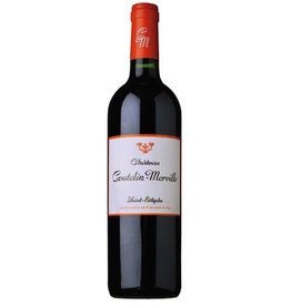 French Wine Chateau Coutelin-Merville Saint-Estephe Bordeaux 2009 750ml