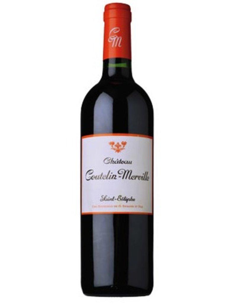 French Wine Chateau Coutelin-Merville Saint-Estephe Bordeaux 2009 750ml