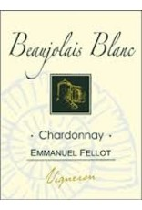 French Wine Emmanuel Fellot Beaujolais Blanc Chardonnay 2015 750ml