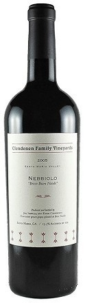 "American Wine Clendenen Family Vineyards Nebbiolo ""Bricco Buon Natale"" Santa Maria Valley 2010 750ml"