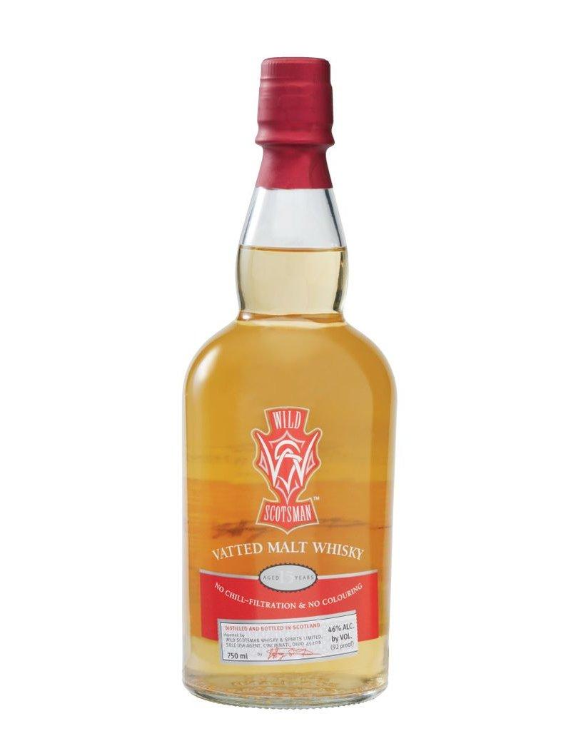 Scotch Wild Scotsman 15 Year Vatted Malt Scotch