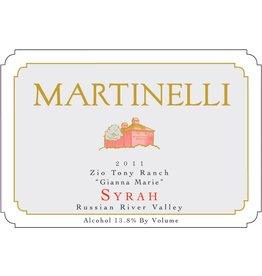 "American Wine Martinelli Syrah ""Gianna Marie"" Zio Tony Ranch Russian River Valley 2006 750ml"