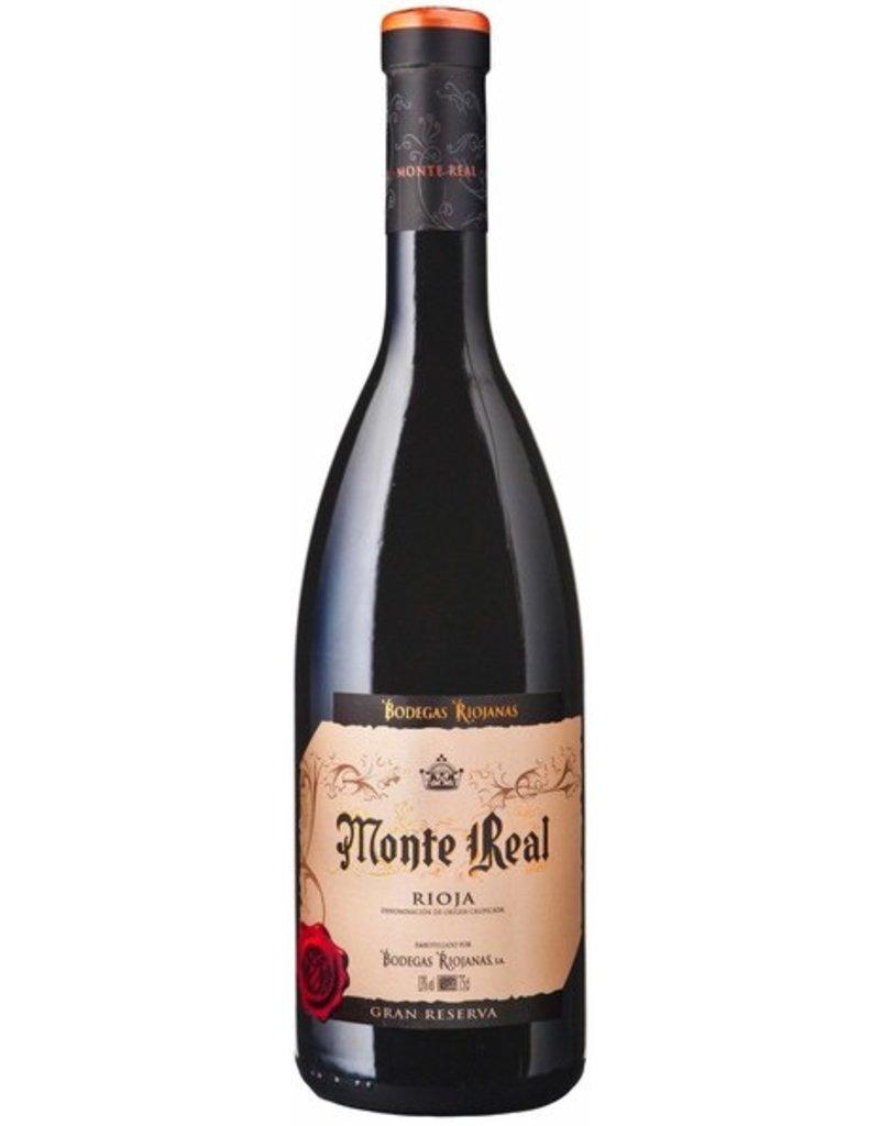 Spanish Wine Bodegas Riojanas Monte Real Rioja Gran Reserva 2001 750ml