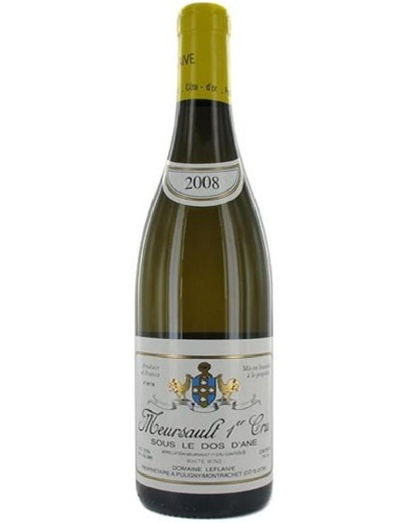 French Wine Domaine Leflaive Meursault Sous le Dos Dane 1er Cru 2008 750ml