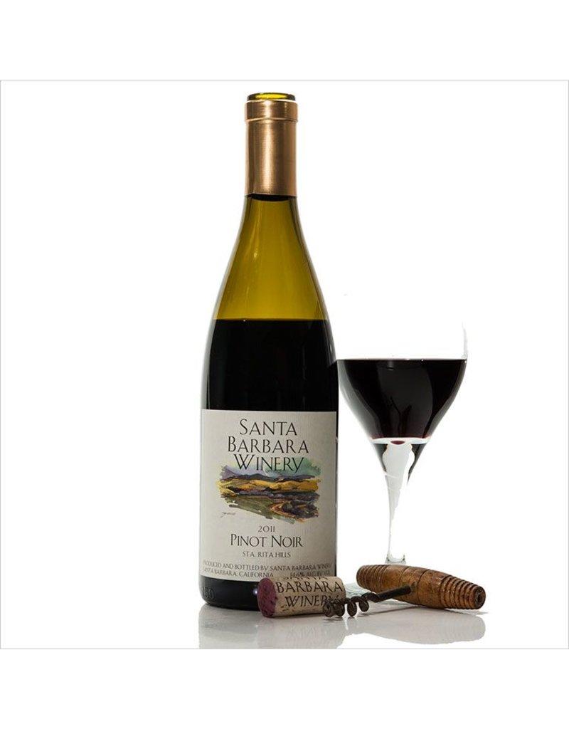 American Wine Santa Barbara Winery Santa Barbara County Pinot Noir 2015 750ml
