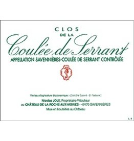 "French Wine Nicolas Joly ""Coulee de Serrant"" Savenniéres 2009 750ml"