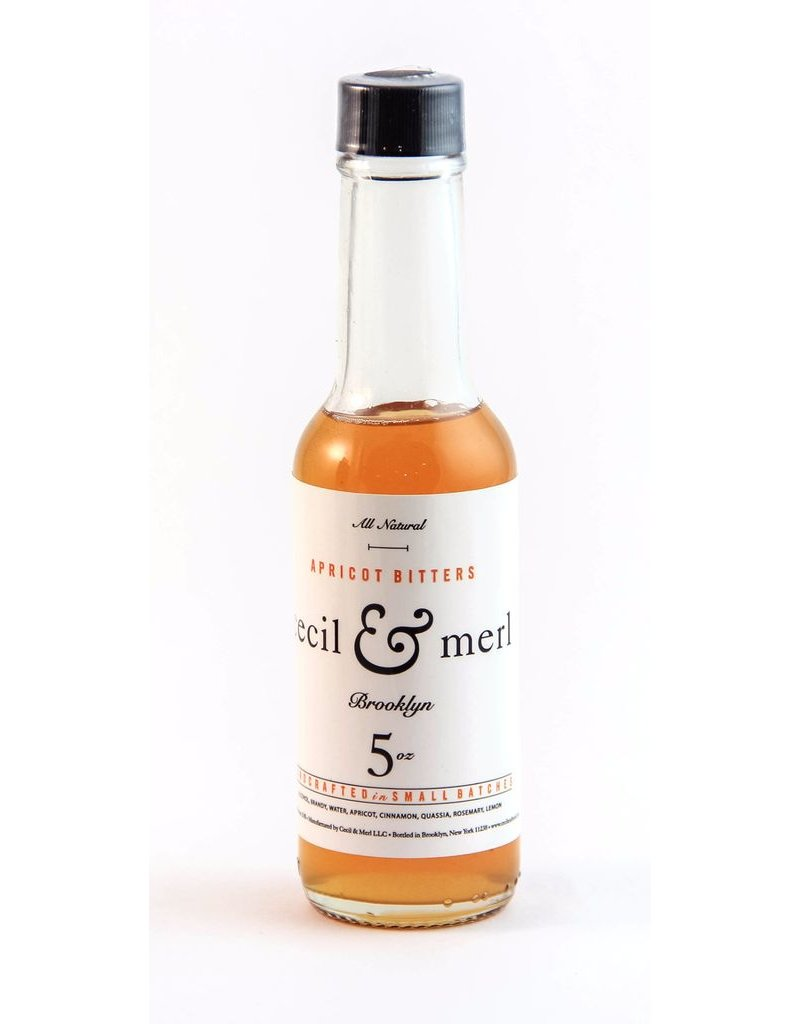 Bitter Cecil & Merl Apricot Bitters 5oz