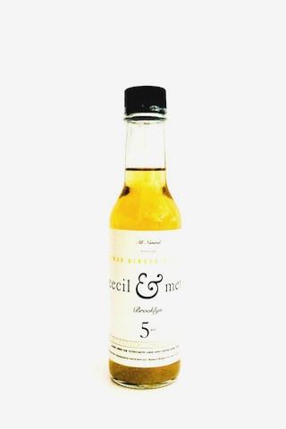 Bitter Cecil & Merl Lemon Ginger Bitters 5oz