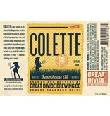 Beer Great Divide Colette Farmhouse Ale 6pack Cans