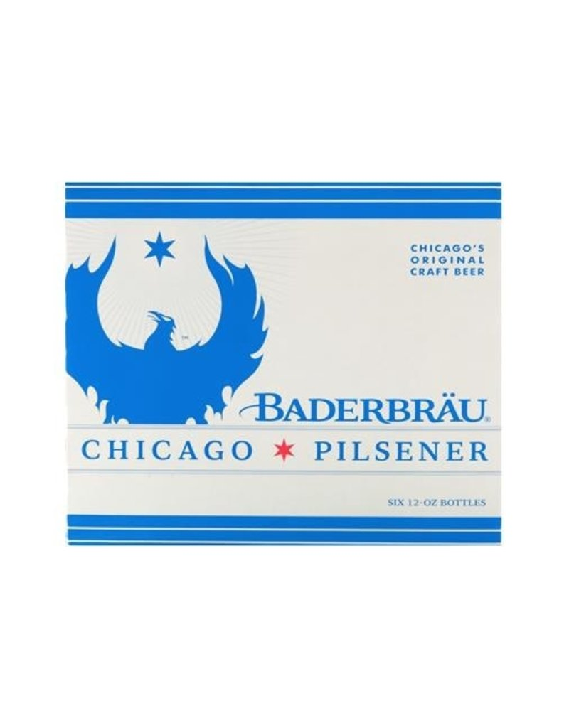 Beer Baderbrau Chicago Pilsener 6pack Can