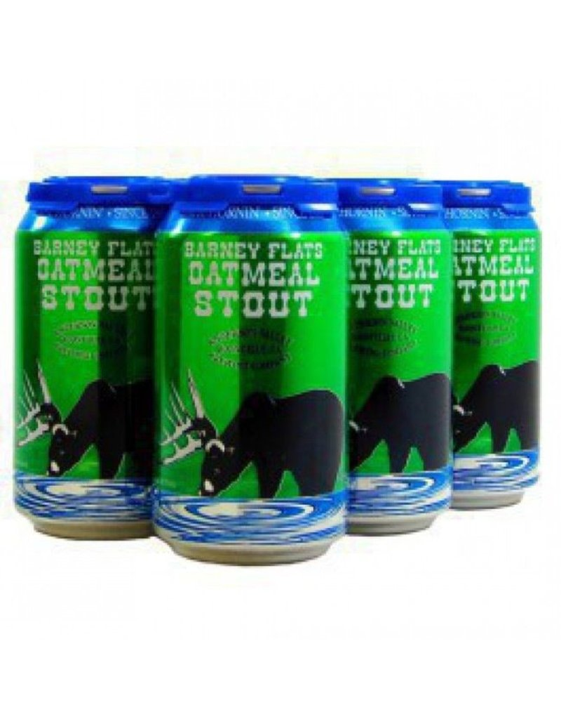 Beer Anderson Valley Barney Flats Oatmeal Stout 6pack Cans