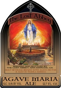 Beer The Lost Abbey Agave Maria Ale 375ml