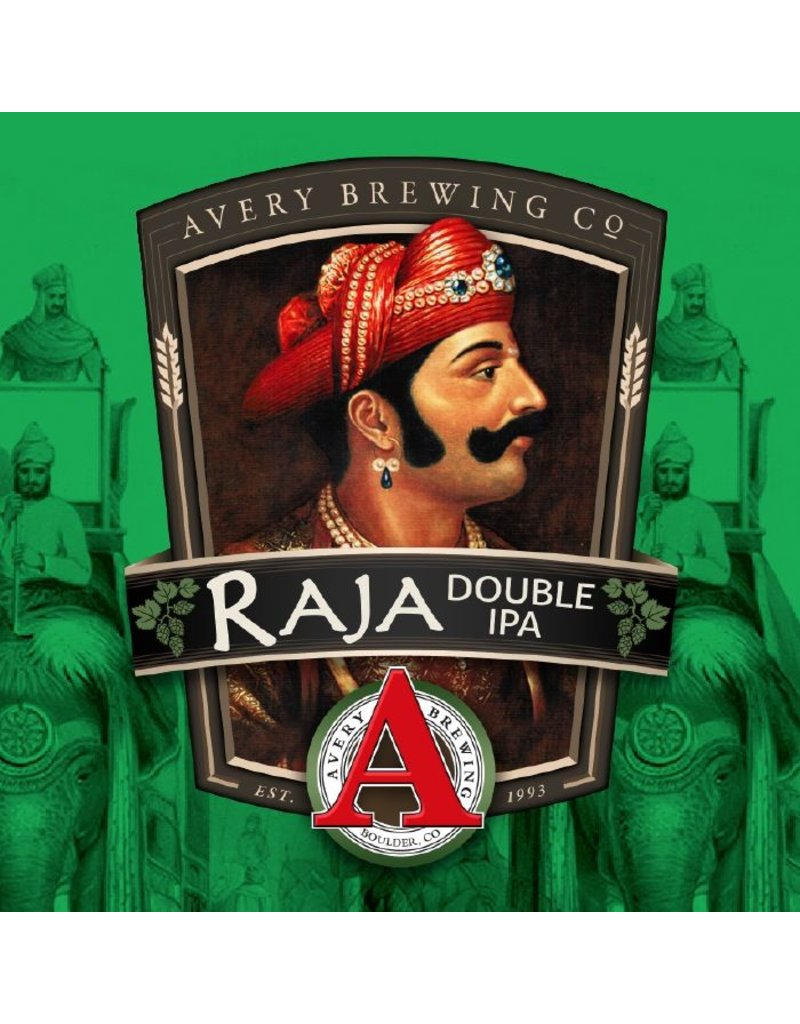 """Beer Avery Brewing Co. """"Raja"""" Double IPA 4Pack"""