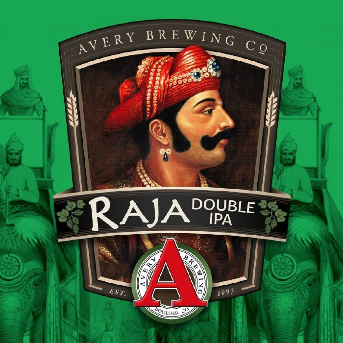 "Beer Avery Brewing Co. ""Raja"" Double IPA 4Pack"