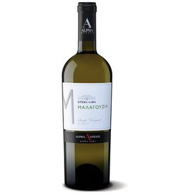 "Greek Wine Alpha Estate Malagouzia ""Turtles Vineyard"" Florina White Wine 2017 750ml"