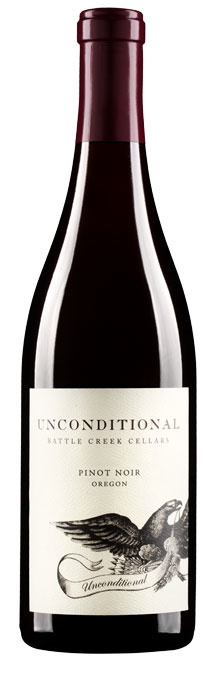 "American Wine Battle Creek Cellars ""Unconditional"" Pinot Noir Oregon 2016 750ml"