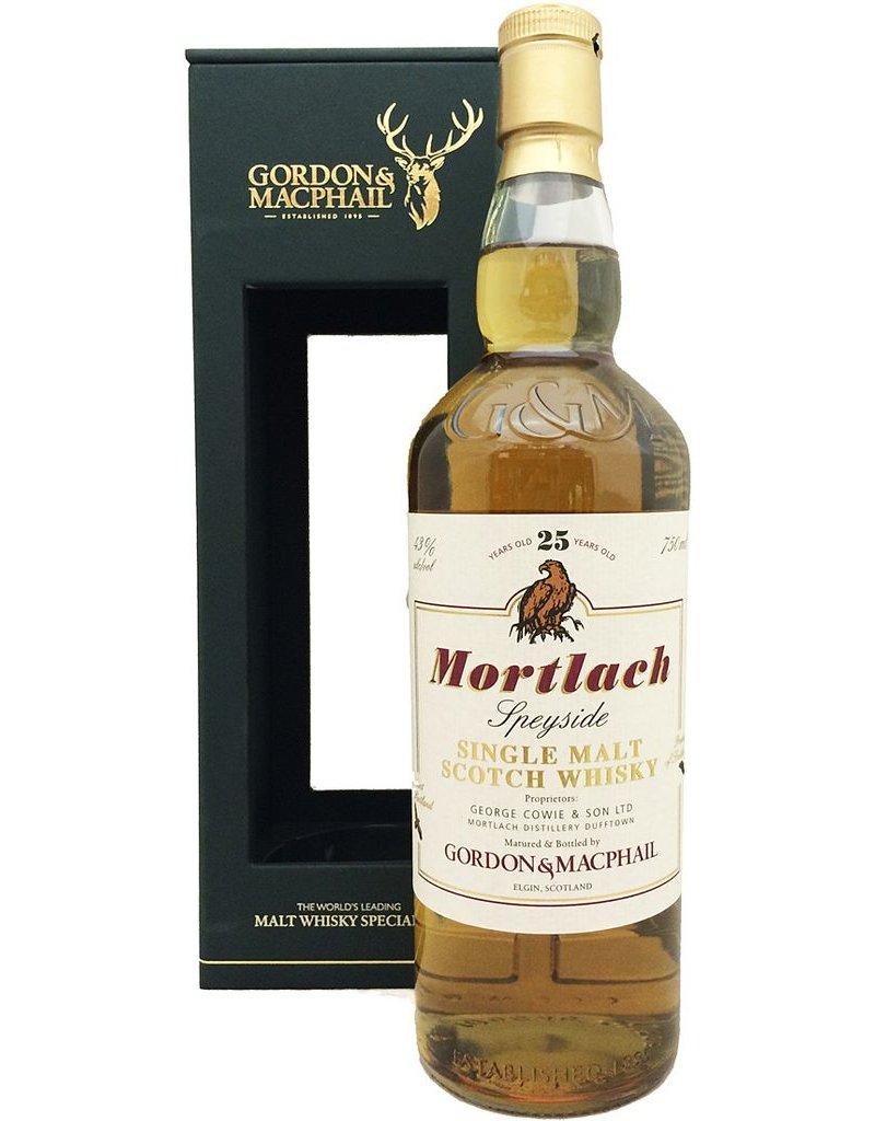 Scotch Gordon & Macphail Mortlach 25 Year Single Malt Scotch 750ml