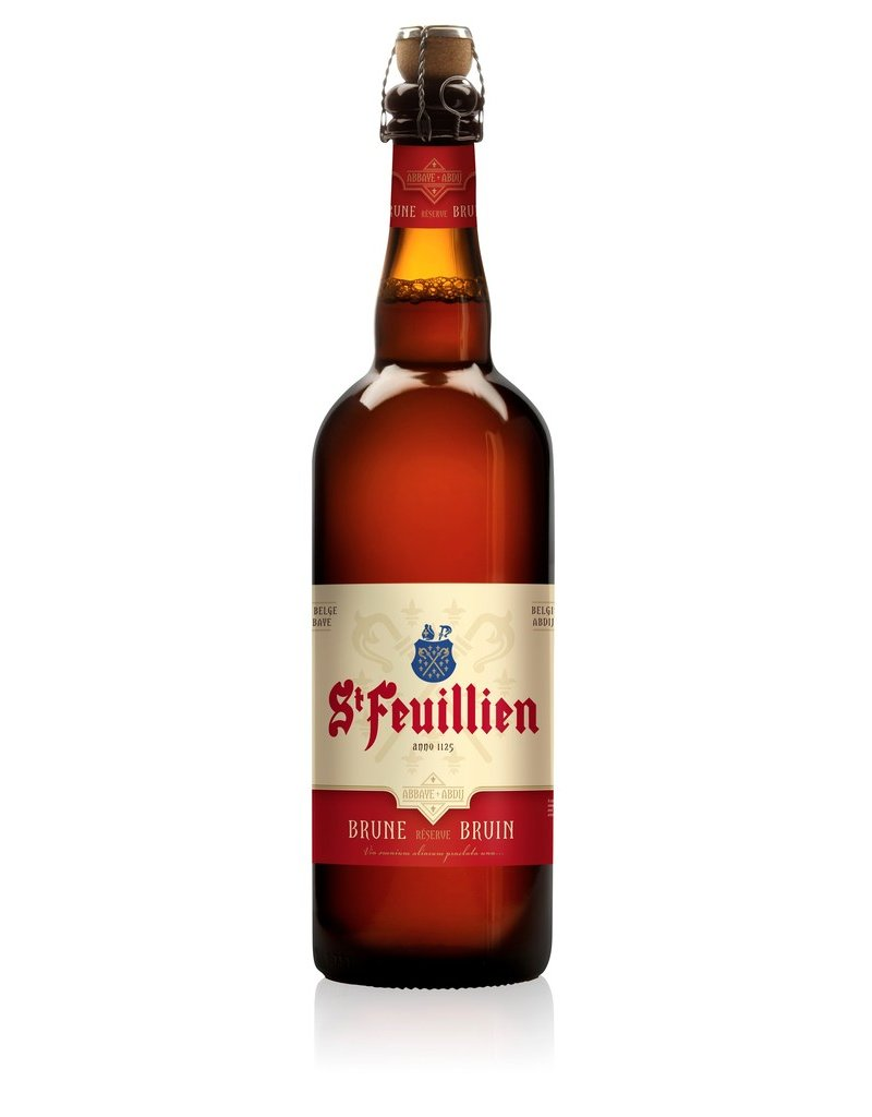 Beer St. Feuillien Brune Reserve Abbey Ale 750ml