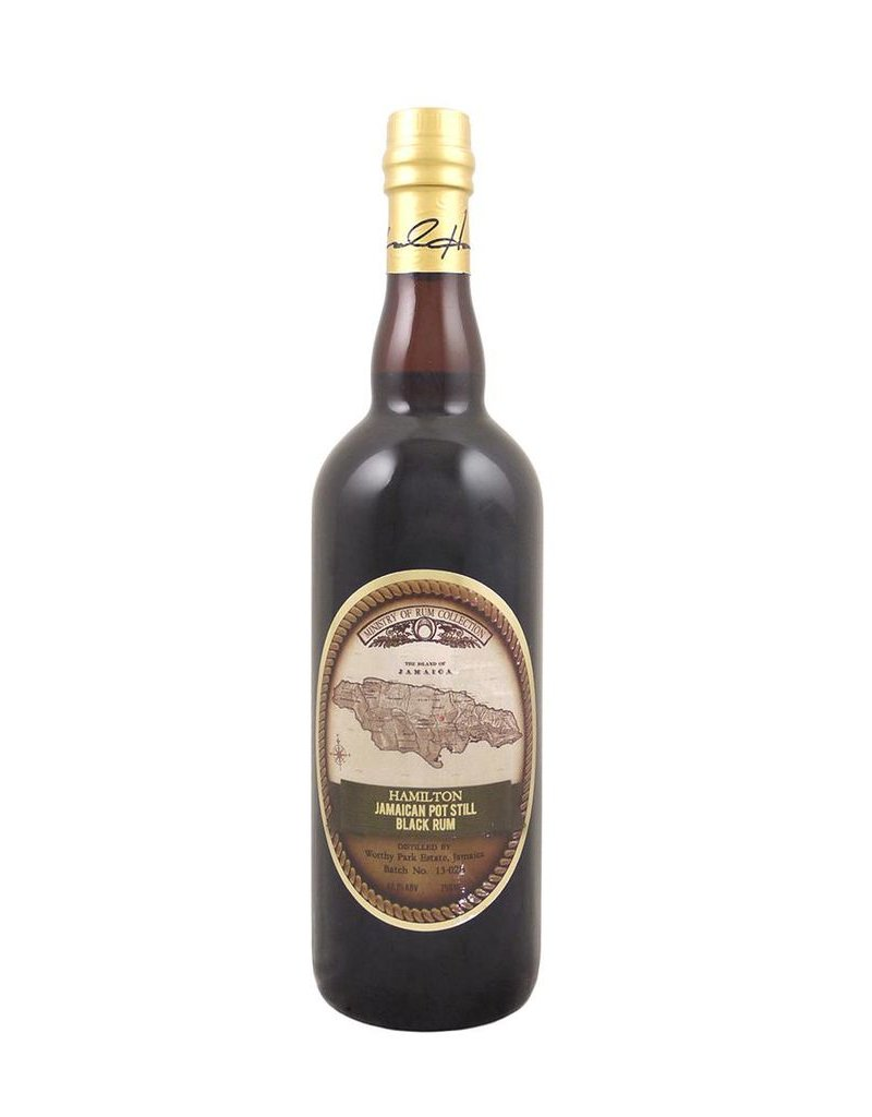 Rum Hamilton Jamaican Pot Still Black  Rum 750ml
