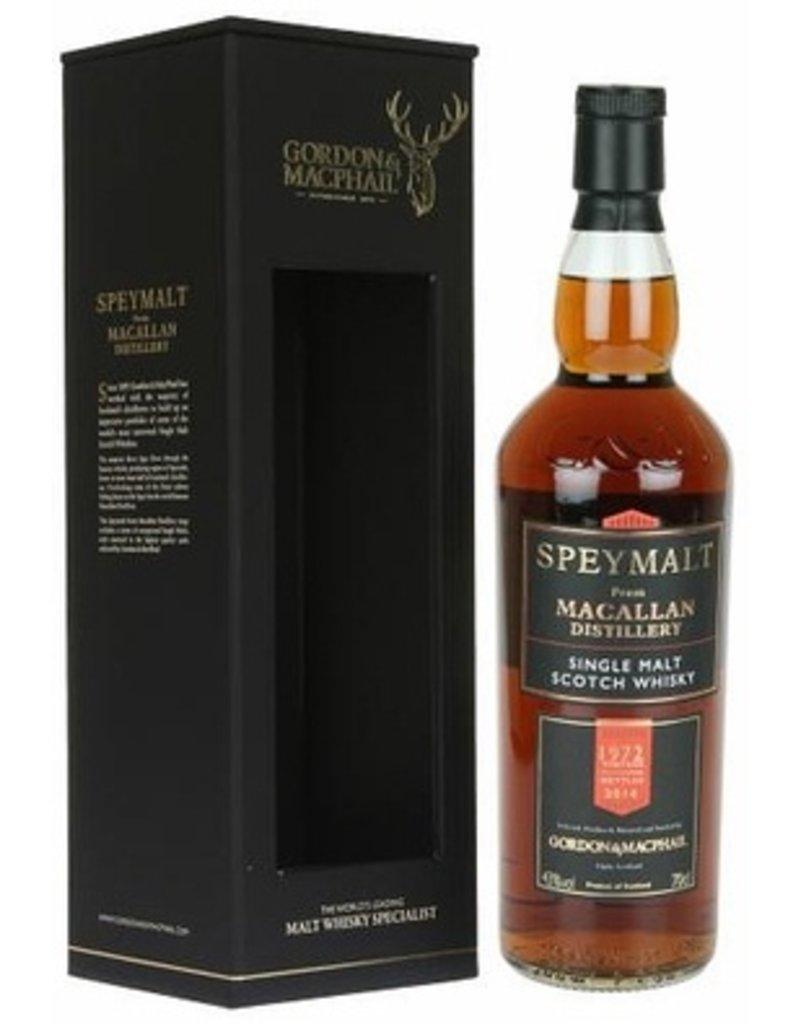 Scotch Gordon & Macphail Speymalt  Macallan 42 Year 1972 750ml