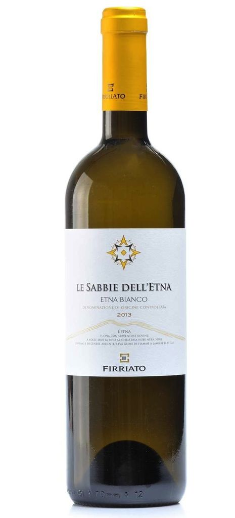 "Italian Wine Firriato ""Le Sabbie dell'Etna"" Etna Bianco 2014 750ml"