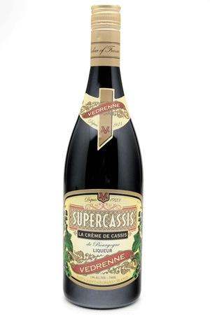 """Liqueur Vedrenne Super Cassis """"La Creme de Cassis"""" Liqueur 750ml"""