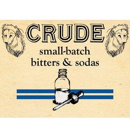 "Bitter Crude ""Apothecary"" Sweet & Thai Basil Bitters 2oz"