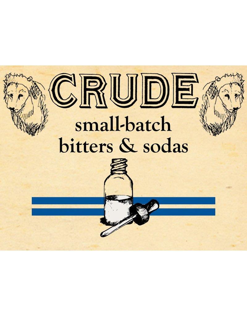 "Bitter Crude ""Apothecary"" Pear & Hazelnut Bitters 2oz"