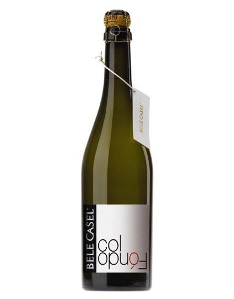 """Sparkling Wine Bele Casel """"Col Fondo"""" Asolo Prosecco 2012 750ml"""