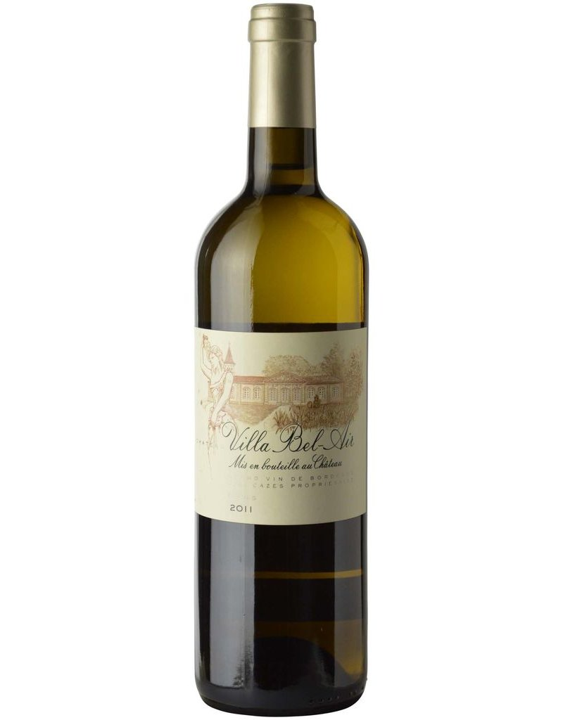 French Wine Chateau Villa Bel-Air Grave Blanc 2014 750ml