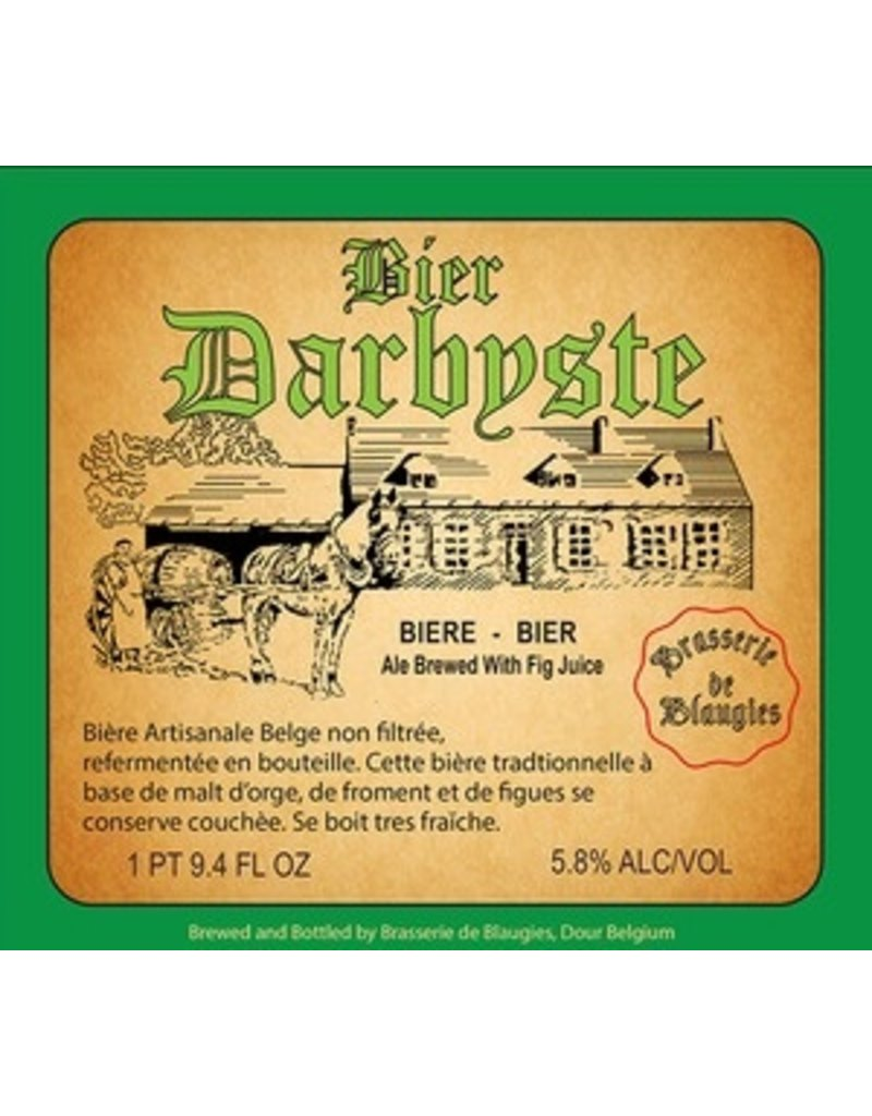Beer Blaugies Darbyste 750ml