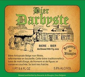 Beer Blaugies Darbyste 750ml