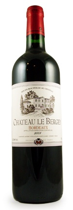 French Wine Chateau Le Bergey Bordeaux 2016 750ml
