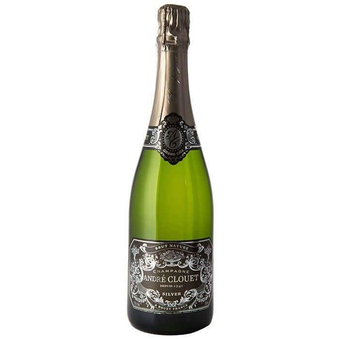 Sparkling Wine Andre Clouet Silver Brut Nature 1.5L