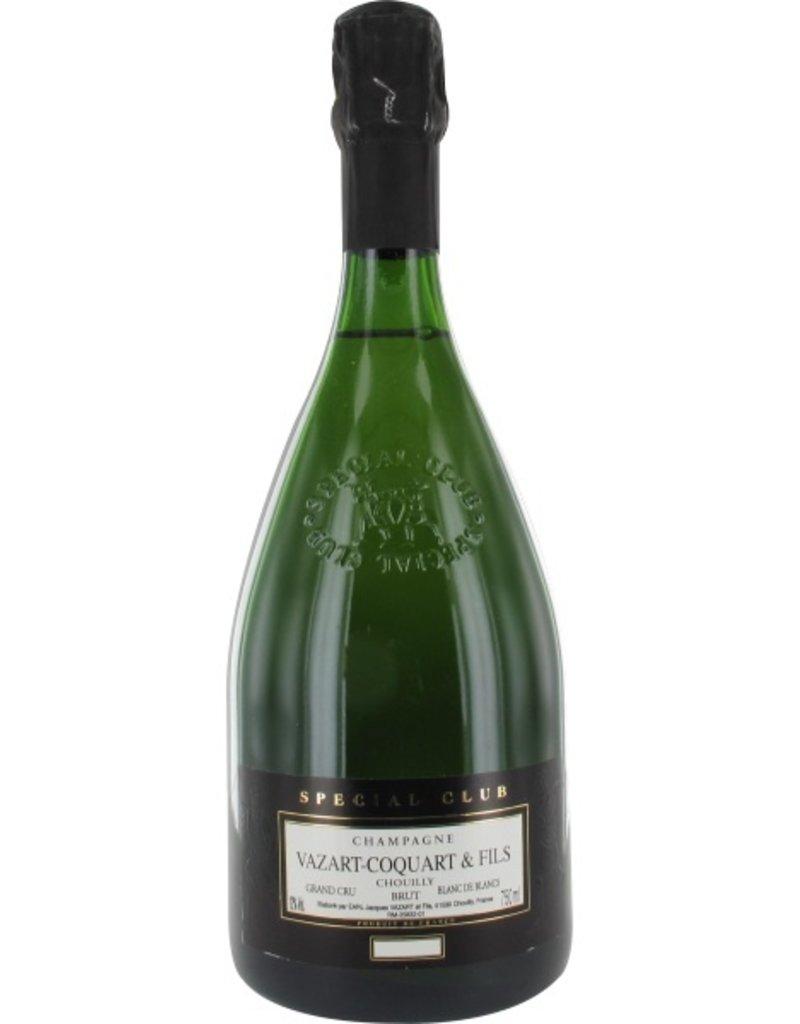Sparkling Wine Champagne Vazart-Coquart & Fils Special Club Blanc de Blanc Grand Cru 2007 750ml