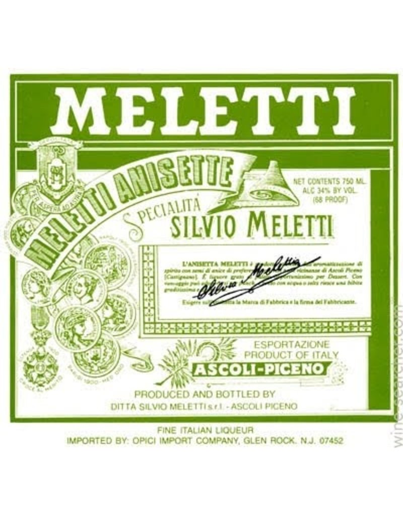 Liqueur Meletti Anisette 750ml