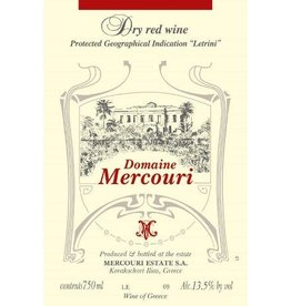 Greek Wine Domaine Mercouri Estate Dry Red Wine 2013 750ml