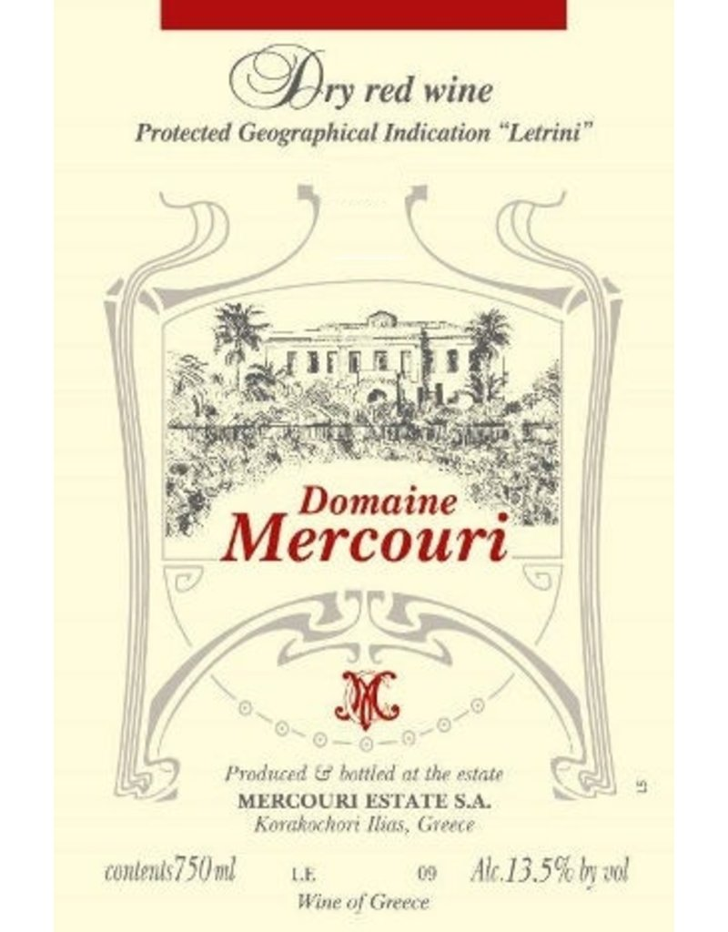 Greek Wine Domaine Mercouri Estate Dry Red Wine 2013 750ml