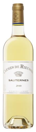 Dessert Wine Carmes de Rieussec Sauternes 2004 750ml