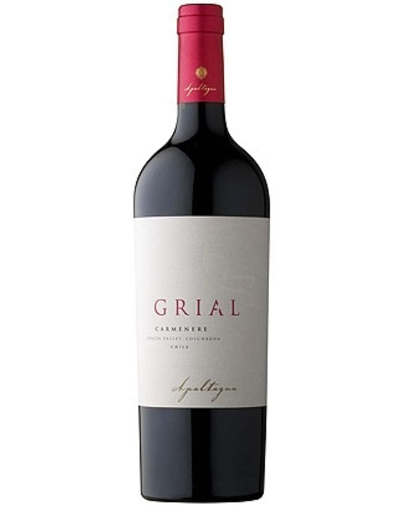 South American Wine Apaltagua Grial Carmenere Apalta Valley, Colchagua, Chile 2008 750ml