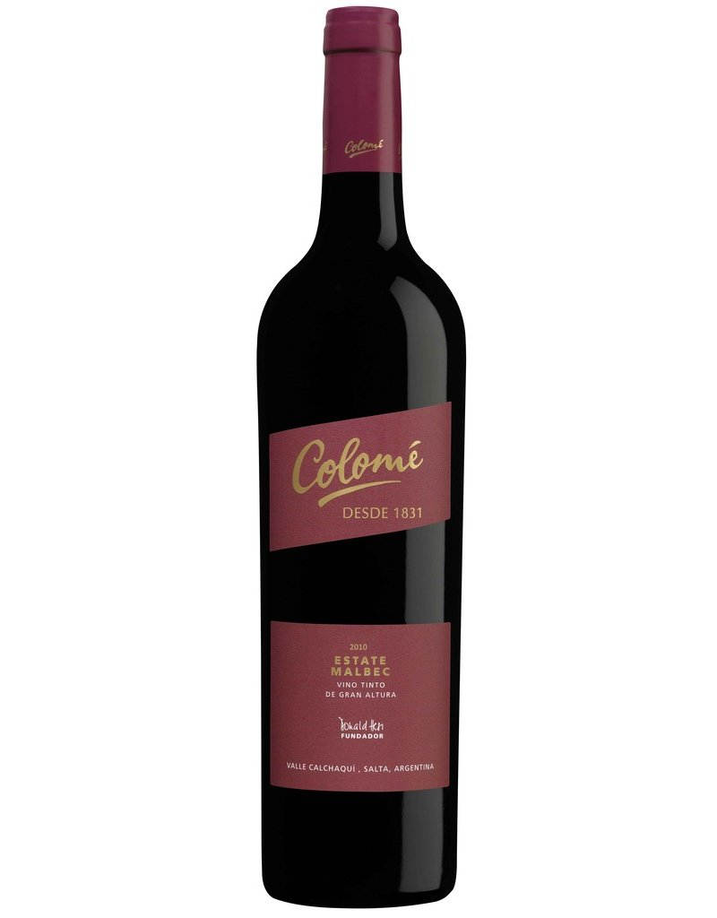 South American Wine Colomé Estate Malbec Salta, Argentina 2012 750ml