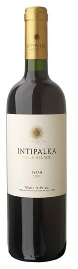 South American Wine Intipalka Syrah Ica Valley, Peru 2015 750ml