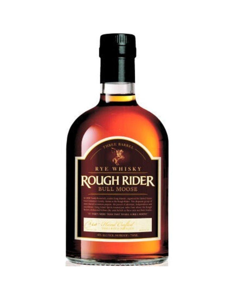 Rye Whiskey Rough Rider Bull Moose Three Barrel Rye 750ml
