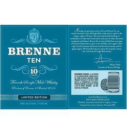 "Whiskey Brenne 10 Year French Single Malt Whiskey  ""Limited Edition"" 750ml"