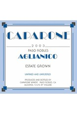 American Wine Caparone Aglianico Paso Robles 2015 750ml